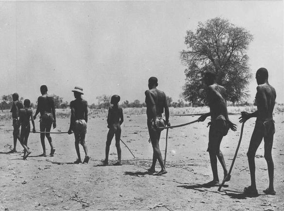 Naked Africans Walking