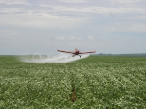 Spraying For Soybean Rust