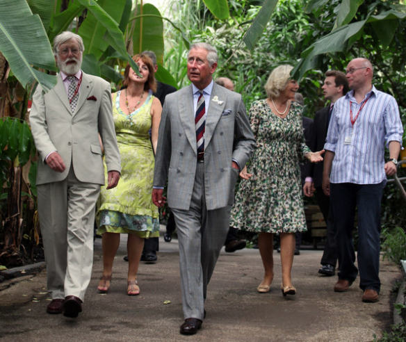 Duke And Duchess Of Cornwell Visit The Eden Project